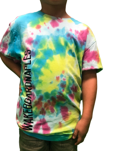 Wakeboard Naples Tie Dye Youth Tee