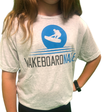 Wakeboard Naples Youth Tee - Vintage White