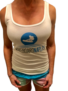 Wakeboard Naples Ladies Tank - White