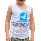 Wakeboard Naples White Tank - Youth