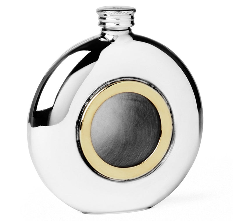 Sir Jack's 6oz Round Porthole Flask