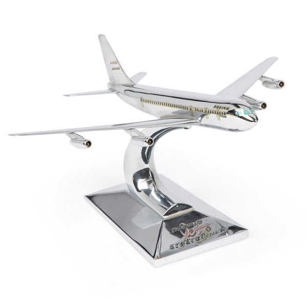 Allyn Sales Boeing 707 Stratoliner Jet Desk Model