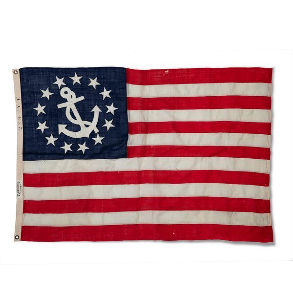 13 Star American Yacht Ensign Flag