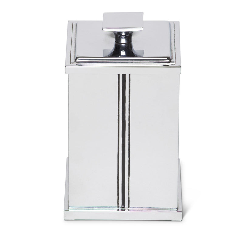 Art Deco Chrome Desktop Humidor