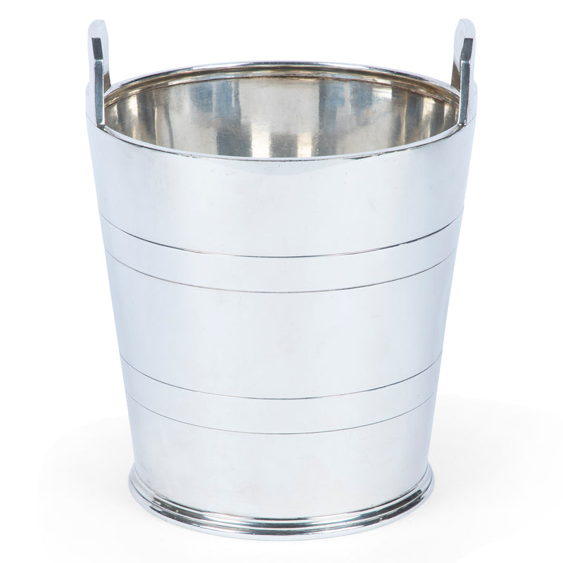 Art Deco English Silver-Plated Champagne Cooler
