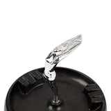 Art Deco Flying Goddess Hood Ornament Ashtray