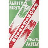 Prohibition Safety First Original Poster