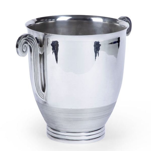 Art Deco Silver Champagne Bucket Wine Cooler