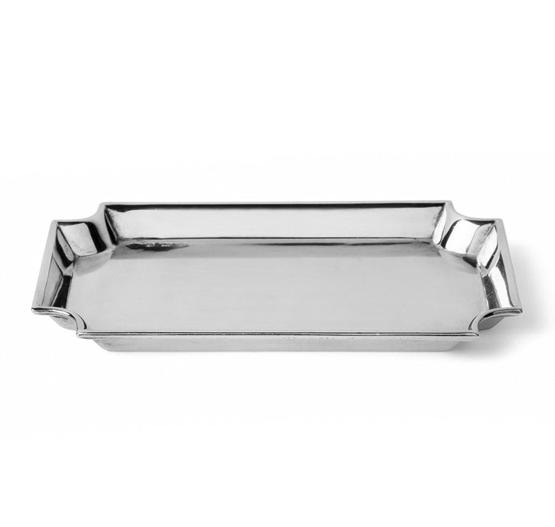 Art Deco Sterling Silver Card Tray