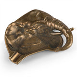 Vintage Bronze Elephant Cigar Ashtray