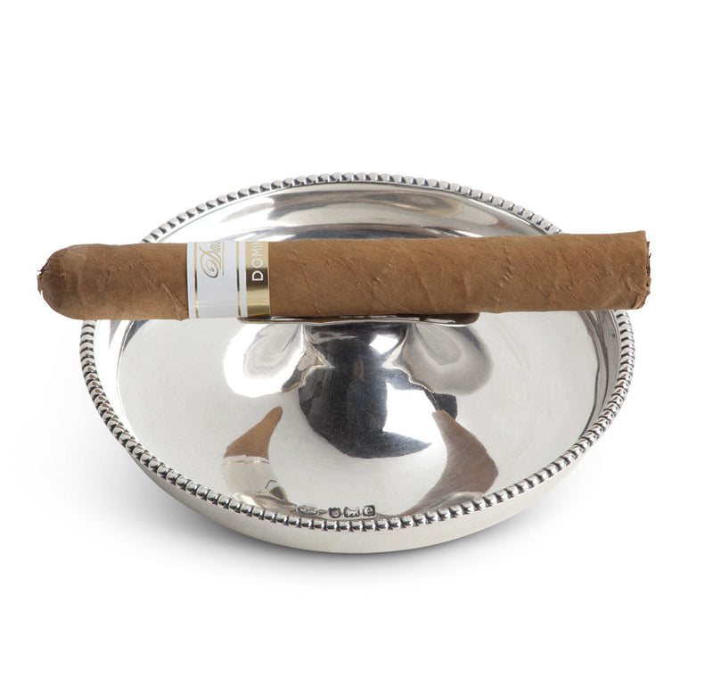 English Sterling Silver Individual Ashtray