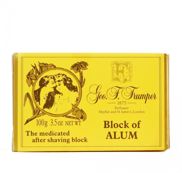 Geo F. Trumper Block of Alum