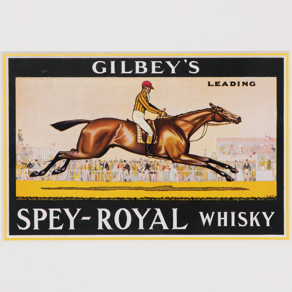 Gilbey's Spey-Royal Whisky Label