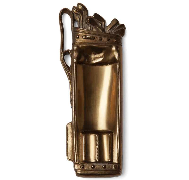 Brass Golf Bag Ashtray