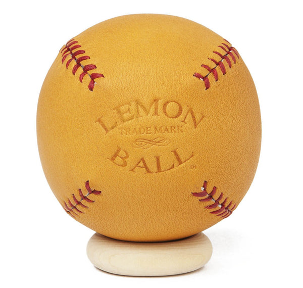 Leather Head Sports Lemon Peel Ball in Glove Tan
