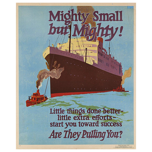 Mighty Small but Mighty! Mather Work Incentive Original Poster