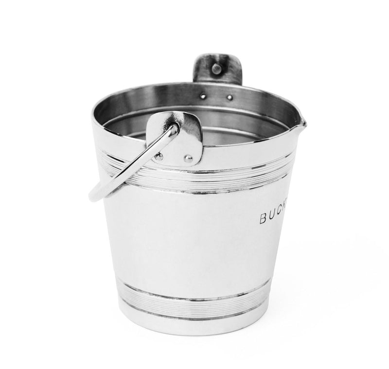 Napier Silver-Plated Bucket Full Jigger