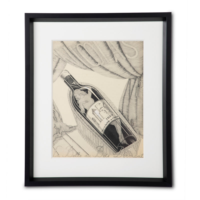 Nicolas - Wine Bottle by Paul Iribe, Original Lithograph