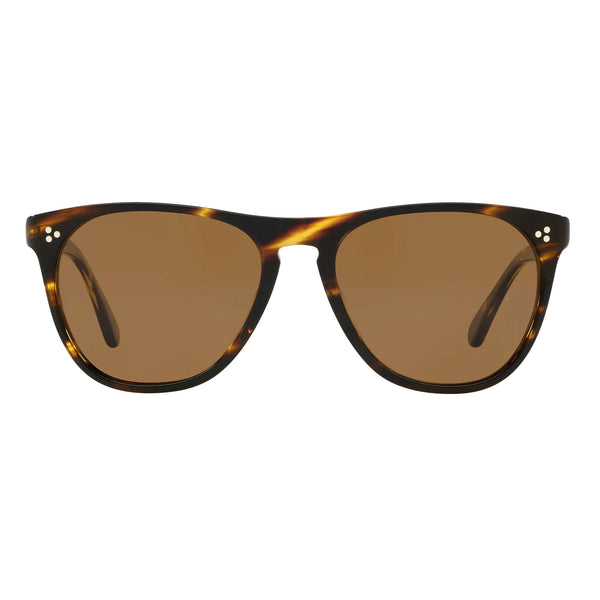 Oliver Peoples Daddy B Cocobolo Brown Polar Sunglasses