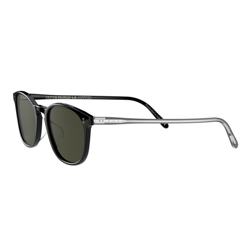 Oliver Peoples Finley Vintage Sun Black with G15 Polar Sunglasses