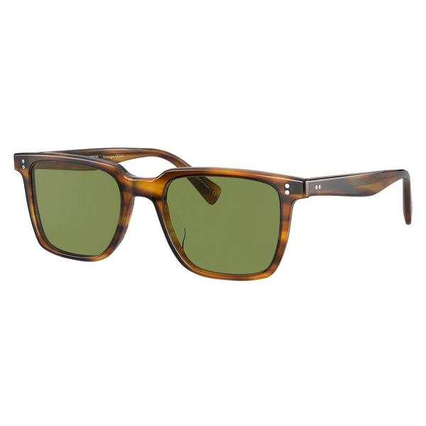 Oliver Peoples Lachman Sun Raintree with Green C Sunglasses