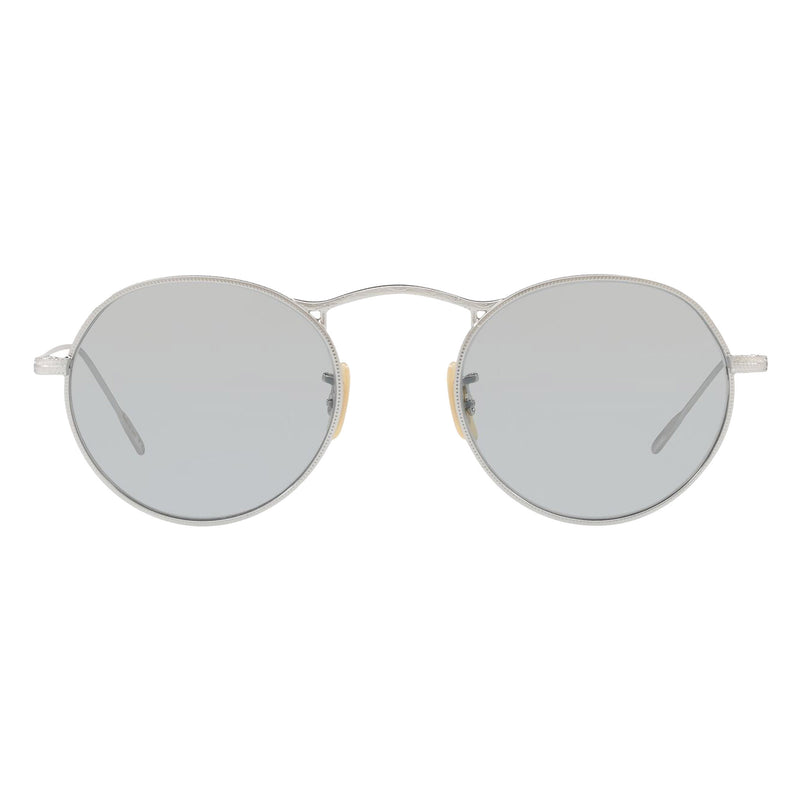Oliver Peoples M-4 30TH Sun Silver with Light Grey Photochromic Glass