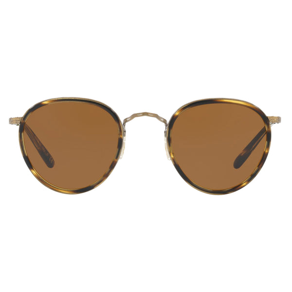 Oliver Peoples MP-2 Sun Cocobolo Antique Gold with Brown Sunglasses