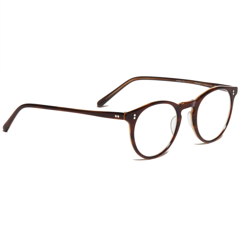 Oliver Peoples O'Malley Brown Tortoise Cream Rx