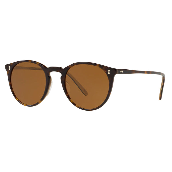 Oliver Peoples O'Malley Sun 362 Horn with Brown Sunglasses