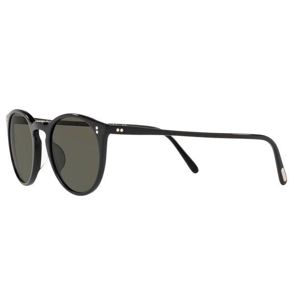 Oliver Peoples O'Malley Sun Black with Grey Polar Sunglasses