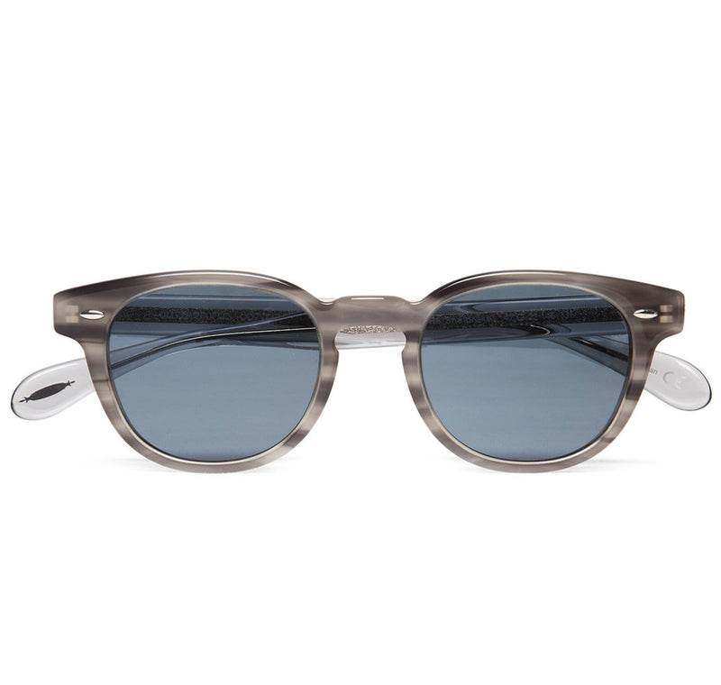 Oliver Peoples Sheldrake Grey Tortoise with Indigo Photochromic Vintage Glass