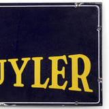 Peter Schuyler Cigars Porcelain Sign