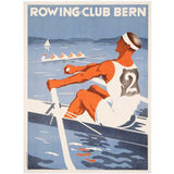 Rowing Club Bern Original Poster