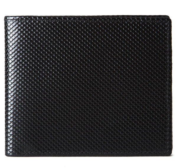Black Carbon Fibre Bifold Wallet