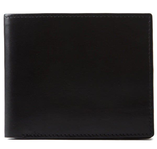 Black Smooth Calf Bifold Wallet