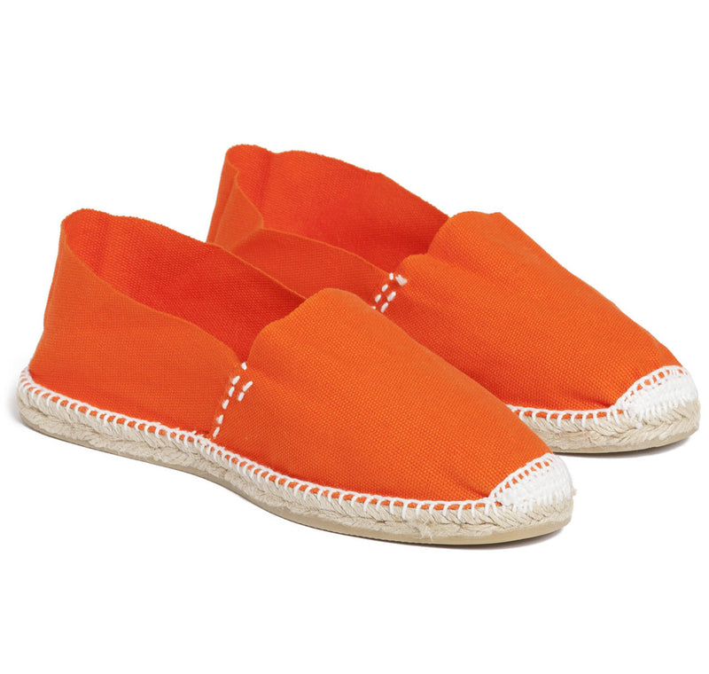 Sir Jack's Blaze Orange Espadrilles