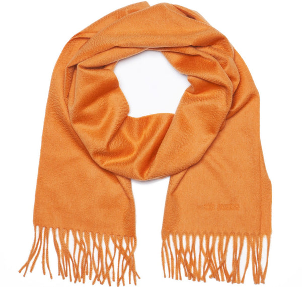 Cashmere Orange Scarf
