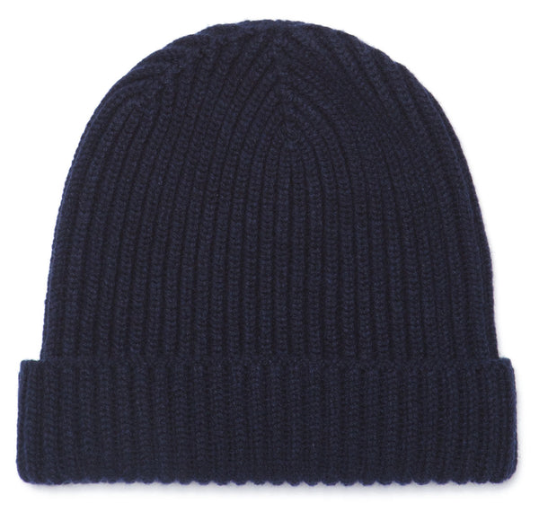 Sir Jack's Classic Pure Cashmere Navy Watch Cap