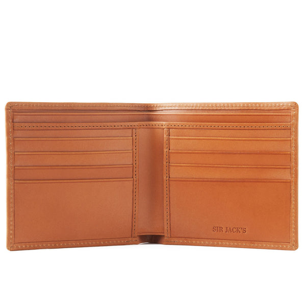 London Tan Bifold Wallet