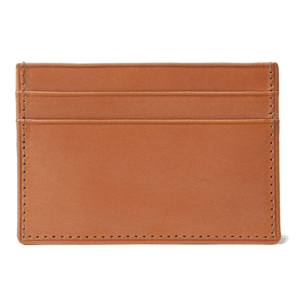 London Tan Credit Card Holder
