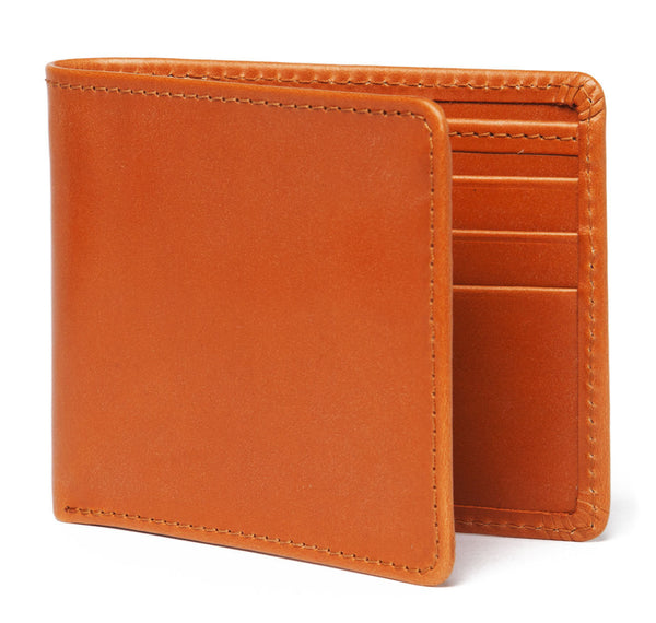 London Tan Leather Billfold Wallet