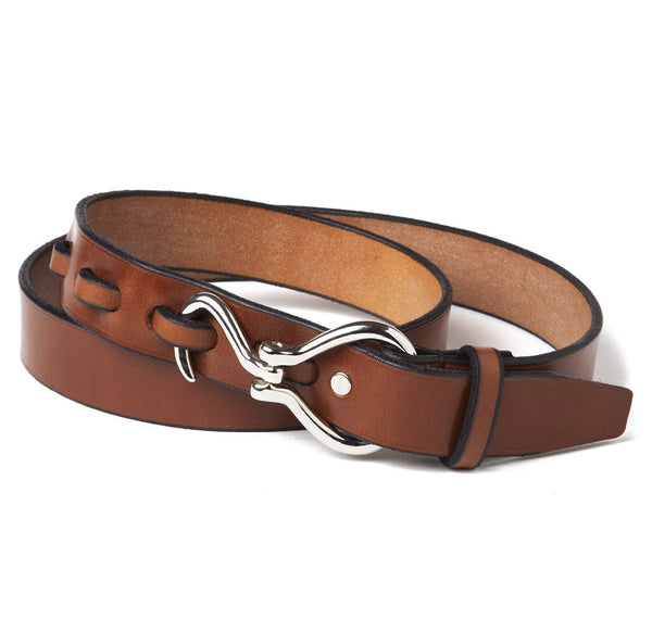 Sir Jack's Nickel Hoof Pick Belt in Chestnut