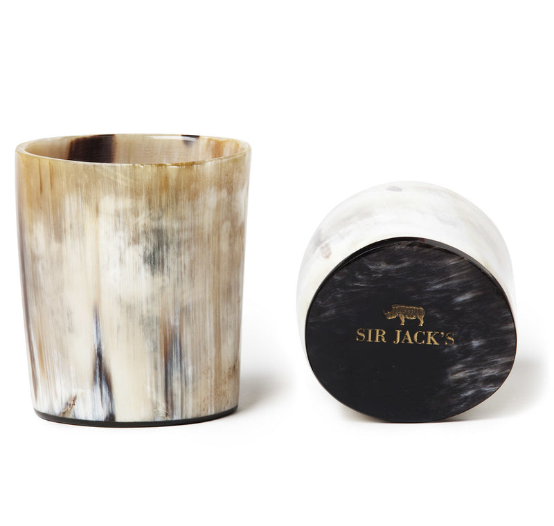 Sir Jack's Ox Horn Double Old Fashioned Whiskey Tumblers