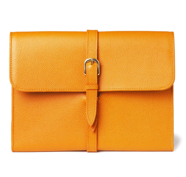 Pebbled Orange Tablet Case
