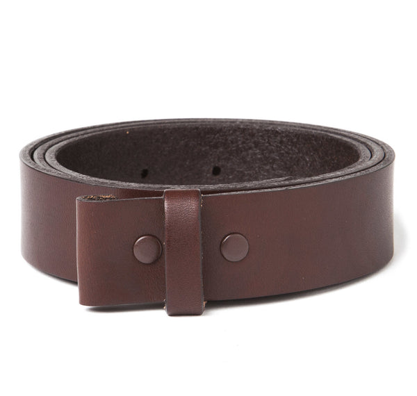 "Sir Jack's Premium Brown 1-1/4"" Belt Strap"