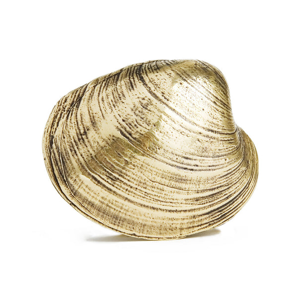 Quahog Shell Belt Buckle