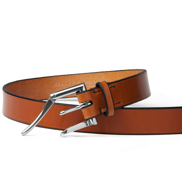 Sir Jack's Quick Release Belt in Cognac