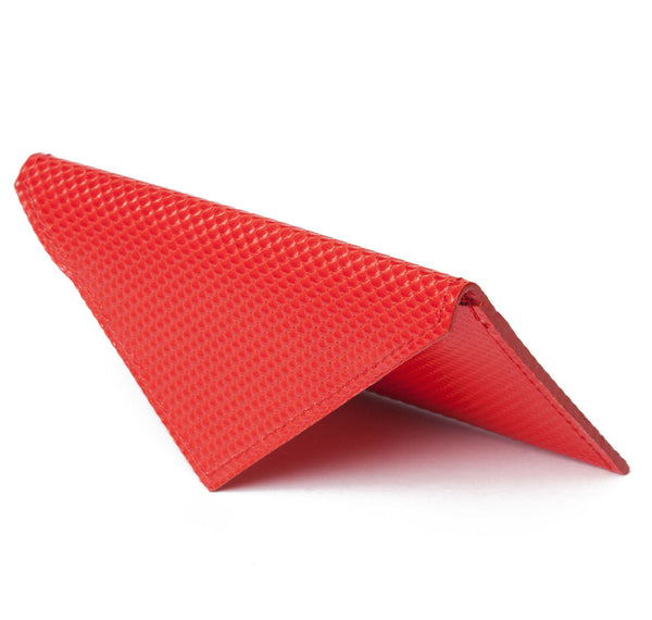 Red Carbon Fibre Envelope Card Holder