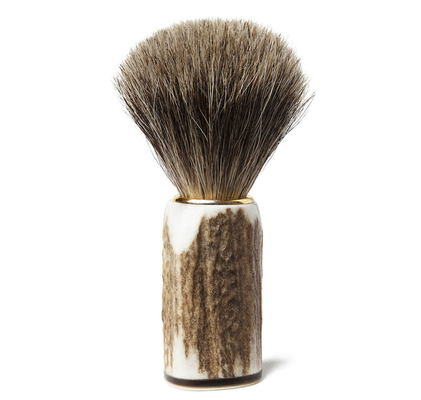 Stag Handle Badger Brush