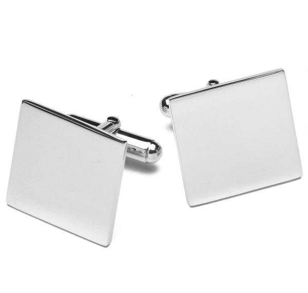 Sterling Square Cufflinks